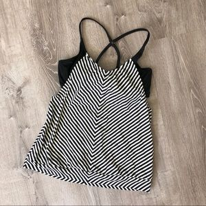 NWOT Athleta Tankini Top